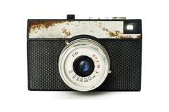 Alte Retro- Kamera Lizenzfreies Stockfoto