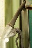 Alte Retro- Weinlese der Benzinpumpe Lizenzfreie Stockbilder