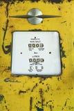 Alte Retro- Weinlese der Benzinpumpe Lizenzfreie Stockfotografie