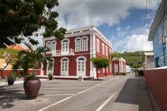 Alte revovated Gebäude Lizenzfreies Stockfoto