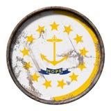 Alte Rhode Island Flagge Lizenzfreie Stockbilder