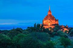 Alte riesige Pagode in Bagan, Myanmar Lizenzfreies Stockbild