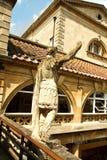 Alte römische Bäder Stockfoto