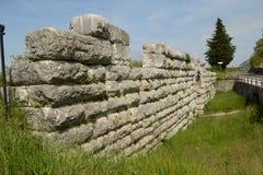 Alte römische Brücke Stockfotografie