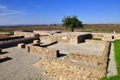 Alte römische Stadt Ulpiana Stockbild
