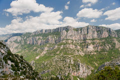 Alte rocce nell'Alta Provenza Fotografie Stock