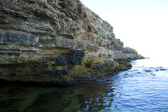 Alte rocce a secco fotografie stock