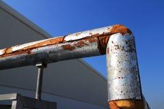 Alte Rohr-Isolierungs-Hartschaumstoff-Art Lizenzfreies Stockfoto