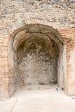 Alte Roman Pompei-Ruinen Stockfoto