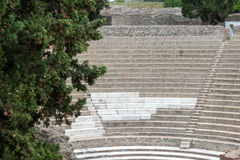 Alte Roman Pompei-Ruinen Stockfotos