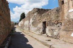Alte Roman Pompei-Ruinen Imagen de archivo