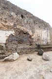 Alte Roman Pompei-Ruinen Foto de Stock