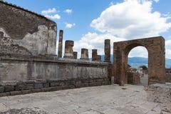 Alte Roman Pompei-Ruinen Lizenzfreie Stockfotos