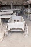 Alte Roman Pompei-Ruinen Lizenzfreies Stockfoto