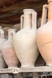 Alte Roman Pompei-Ruinen Stockbilder