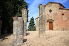 Alte Romanesquekapelle, Sant Appiano, Italien Lizenzfreie Stockbilder