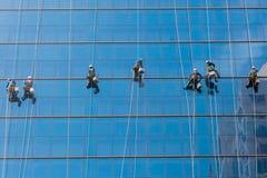 Alte rondelle di finestra di aumento Fotografia Stock Libera da Diritti