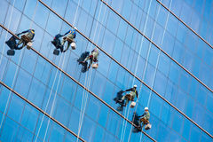 Alte rondelle di finestra di aumento Immagini Stock Libere da Diritti