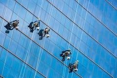 Alte rondelle di finestra di aumento Fotografie Stock Libere da Diritti