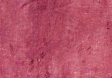Alte rosa Baumwolle kleidet Beschaffenheit Stockfotografie