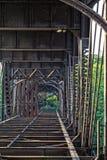 Alte rostige Brücke Lizenzfreie Stockfotografie