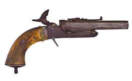 Alte rostige Gewehr stockfoto
