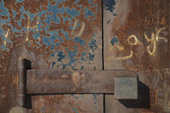 Alte rostige Tür Lizenzfreie Stockbilder