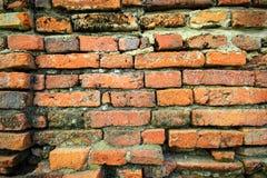 Alte rote Backsteinmauer Lizenzfreie Stockbilder