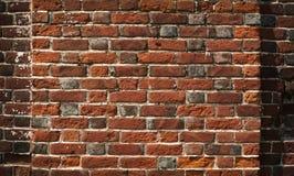 Alte rote Backsteinmauerbeschaffenheit Lizenzfreie Stockfotografie