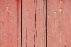 Alte rote hölzerne Beschaffenheit lizenzfreies stockfoto