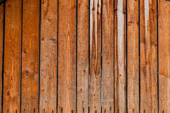 Alte rote hölzerne Planken Stockfotografie