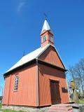 Alte rote Kapelle, Litauen Lizenzfreie Stockbilder