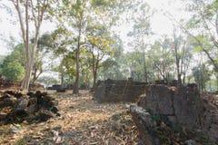 Alte Ruine Stockbild