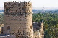Alte Ruinen am Al Mudayrib in Oman Lizenzfreie Stockbilder