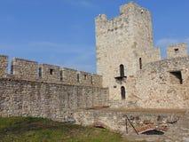 Alte Ruinen auf Kalemegdan, Sahat-kula lizenzfreie stockbilder