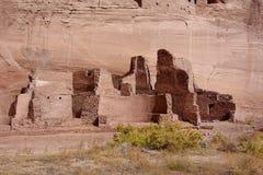 Alte Ruinen in Canyon de Celly Lizenzfreies Stockfoto