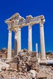 Alte Ruinen in der Seite, die Türkei Stockbild