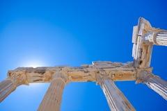 Alte Ruinen in der Seite, die Türkei Lizenzfreies Stockfoto