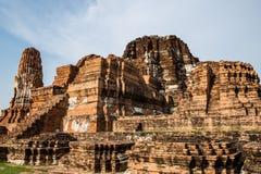 Alte Ruinen der Tempelpagode unschätzbar Lizenzfreies Stockfoto