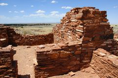 Alte Ruinen des Anasazi Stammes Stockfotos