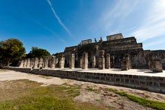 Alte Mayastadt - Chichen Itza Stockbild
