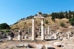 Alte Ruinen Efes Ephesus in Selcuk, die Türkei Stockfoto