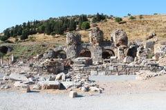 Alte Ruinen Efes Ephesus in Selcuk, die Türkei Stockfotografie