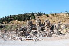 Alte Ruinen Efes Ephesus in Selcuk, die Türkei Lizenzfreies Stockfoto