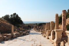Alte Ruinen Efes Ephesus in Selcuk, die Türkei Stockbilder