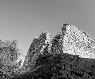 alte Ruinen in einer Wiese Stockbilder