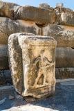 Alte Ruinen in Ephesus die Türkei Lizenzfreie Stockbilder
