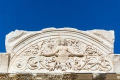 Alte Ruinen in Ephesus die Türkei Lizenzfreies Stockbild