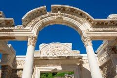 Alte Ruinen in Ephesus die Türkei Lizenzfreie Stockfotografie