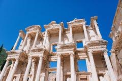 Alte Ruinen in Ephesus die Türkei Stockbild